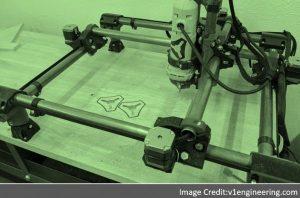 3D Printer Mostly Printed CNC