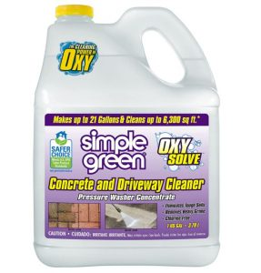 Simple Green Oxy Solve Concrete Pressure Washer Cleaner