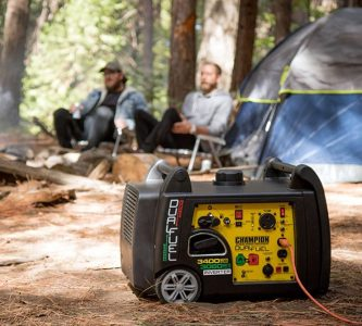 Champion Dual Fuel RV Ready Portable Inverter Generator
