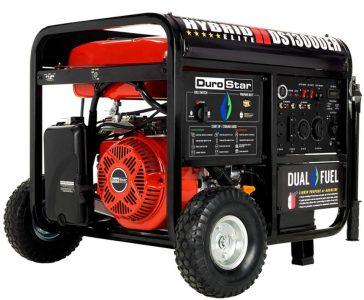 DuroStar DS13000EH Dual Fuel Portable Generator