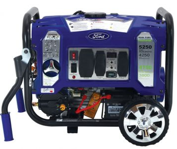 Ford Dual Fuel Portable Generator Go Technology
