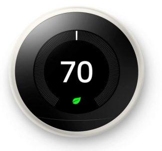Google Nest Learning Programmable Smart Thermostat