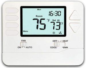 Heagstat Non-Programmable Heat Pump Thermostat