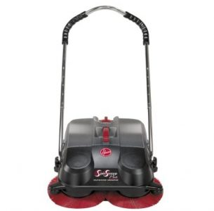 Hoover SpinSweep Pro Sweeper with Swivel Casters