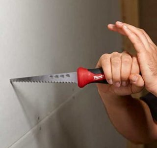 Milwaukee Jab Saw for Drywall that can also deal with plaster