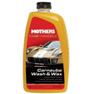 Mothers 05674 California Gold Carnauba Car Wash