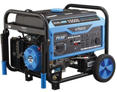 Pulsar Portable Dual Fuel Generator for Emergency