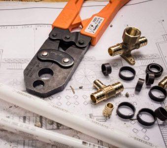 SharkBite Copper Crimp Ring & Pex Pipe Tubing