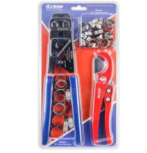 iCrimp Ratchet PEX Cinch Tool with Removing Function