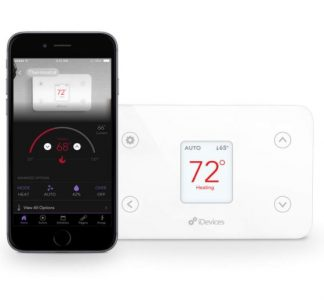 iDevices Wi-Fi Smart Thermostat Alexa Compatible