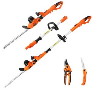 GARCARE Electric Hedge Trimmer for Blackberry