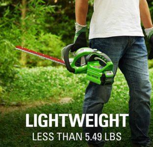 Greenworks 40V 24-Inch Cordless Hedge Trimmer