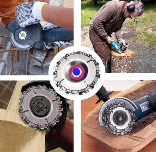 Wood Carving Grinder Chain Disc for Root Removal